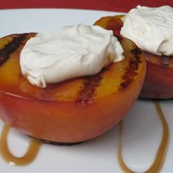 Texas Recipes-Grilled Peaches
