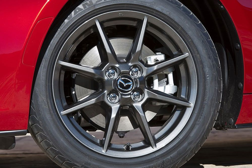 Release 2016 Mazda MX-5 Review Front Wheels View Model