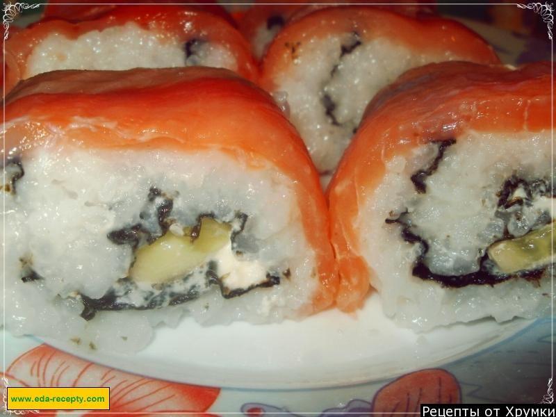 суши филадельфия в домашних условиях фото