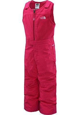 522886a7d502e THE NORTH FACE Toddler Girls  Insulated Snowdrift Bib - SportsAuthority.com