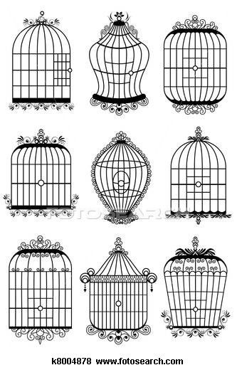 Pin By Chris Williams On Mixed Media Bird Cage Free Clip Art Clip Art