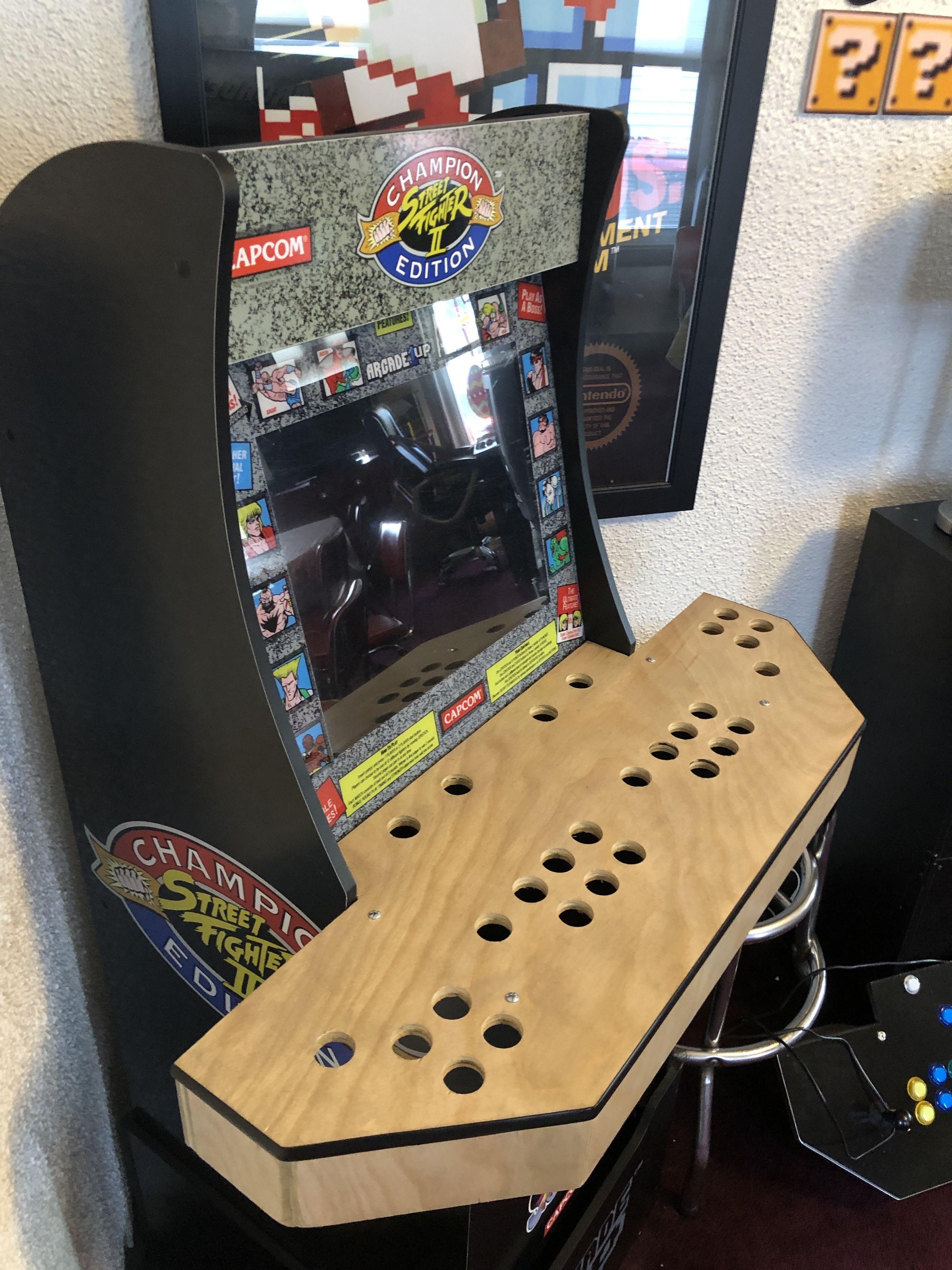 4 player control panel | Arcade1up-grades | Arcade control
