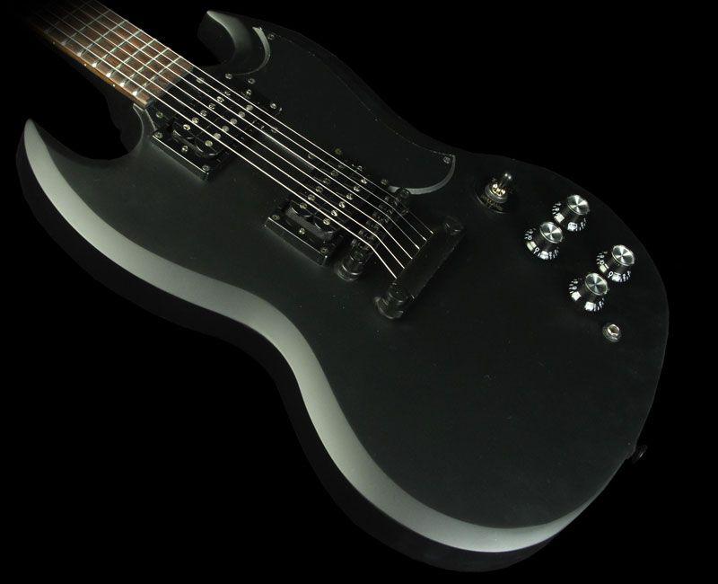 epiphone sg goth g 400 with killpot electric guitar satin. Black Bedroom Furniture Sets. Home Design Ideas