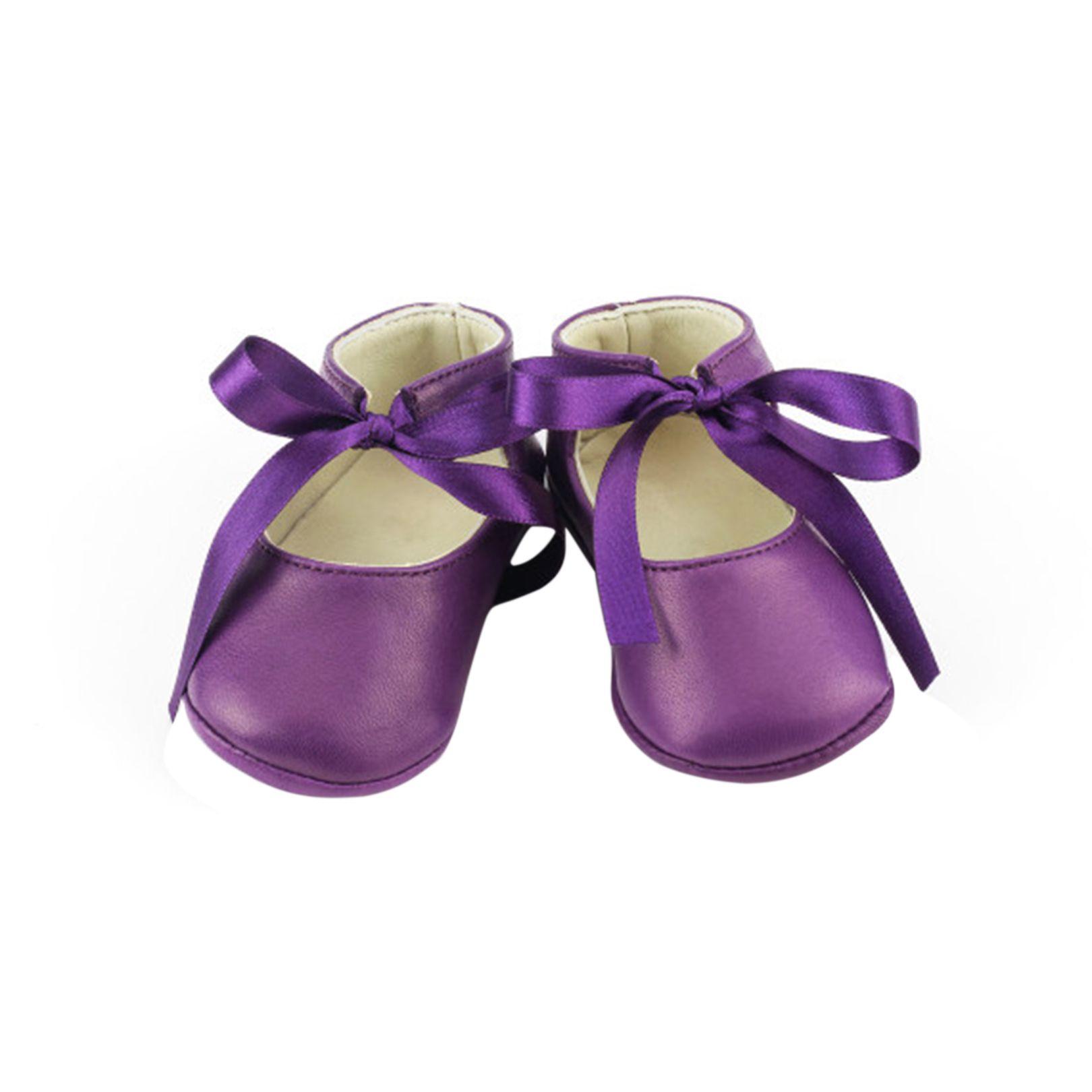 Leather Josephine Booties Purple LOUNGE KEY ITEMS