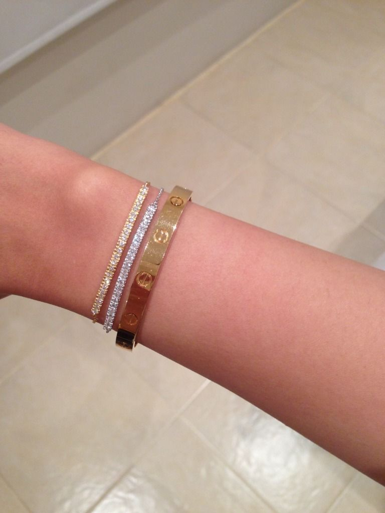 Cartier LOVE bracelet Discussion - Page 569 - PurseForum | Stacking ...