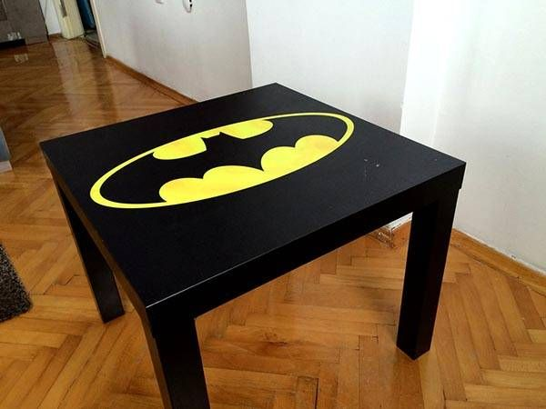 Want To Enjoy Your Favorite Coffee Or Tea In Style Of Batman Let S Keep Going For The Handmade Table