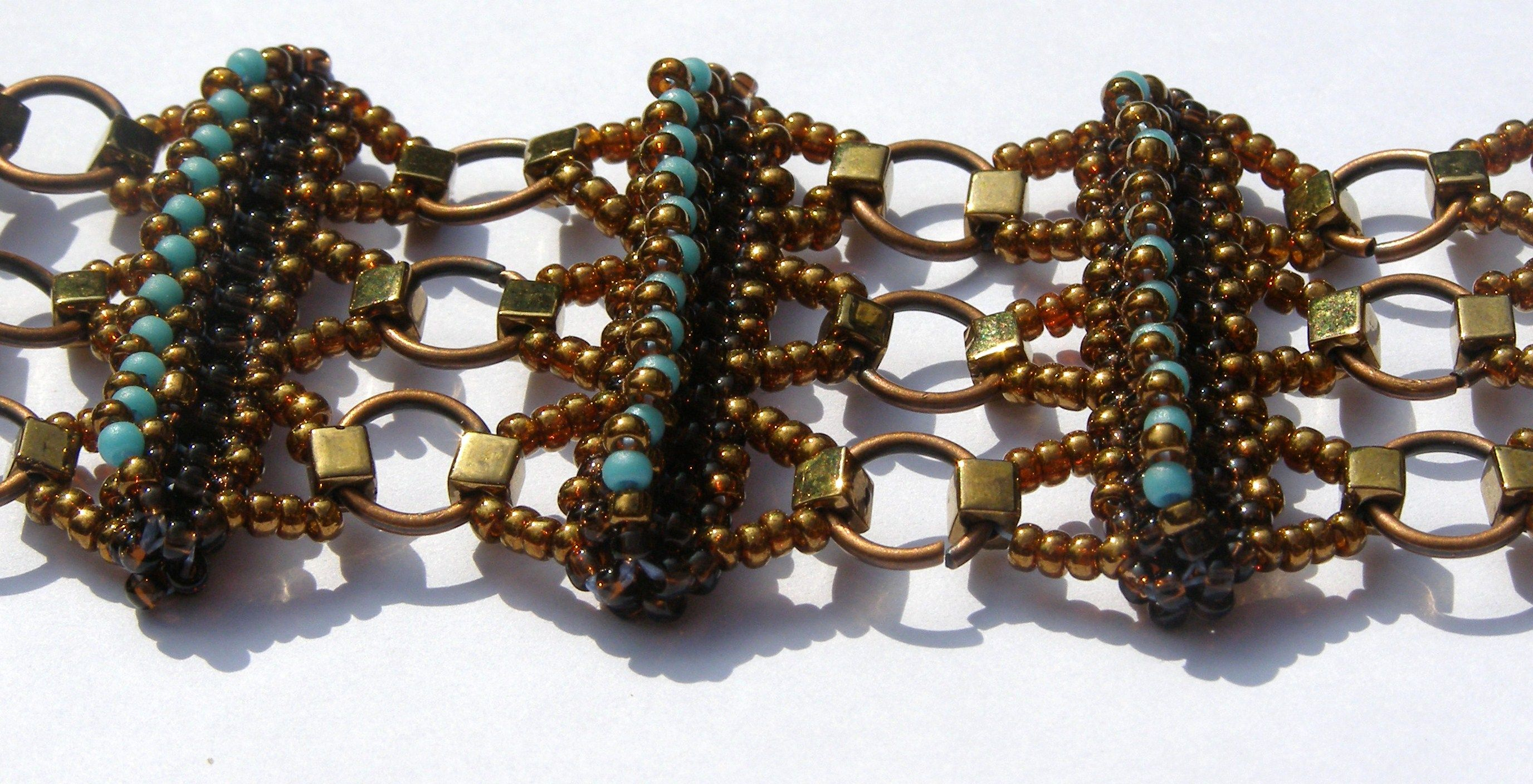 Bracelet interesting how this was put together