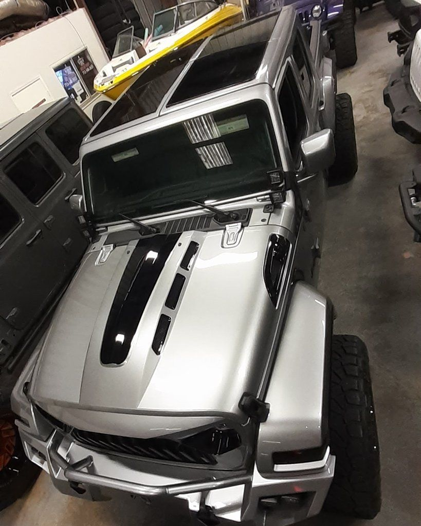 Jeep Gladiator Sunroof Skylight Accessories Front Rear Kit In