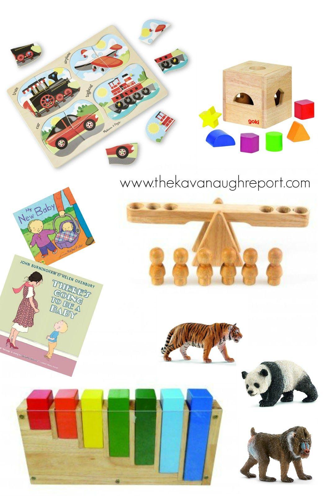 2 Year Old Birthday Gifts Montessori Toys Toddler Boy