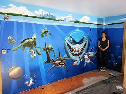 Mural De Mar En Pared Habitacion Buscar Con Google
