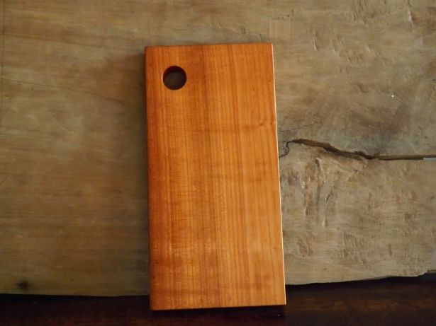 Handmade Rustic Cherry Wood Cutting / Chopping Board Or Serving Tray by Bianca and Sons on Gourmly