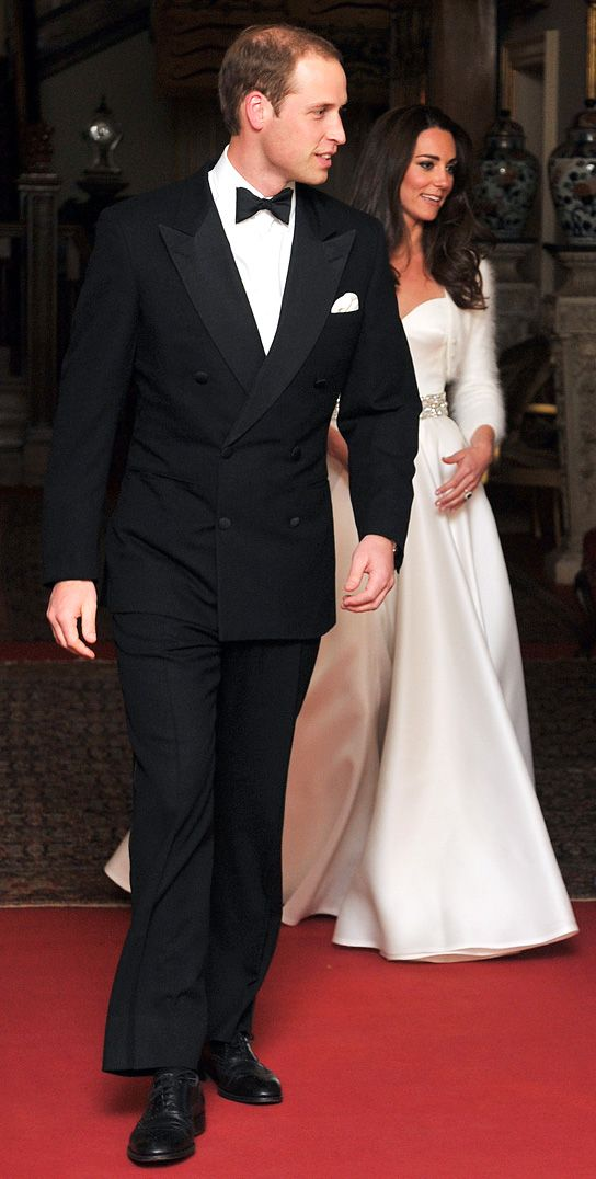 Prince William Kate Middleton On Their Way To Their Wedding