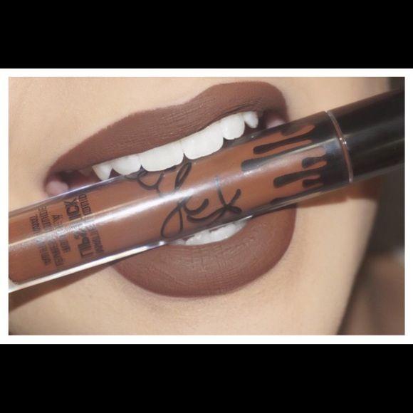 kylie lipkit true brown lipstick only
