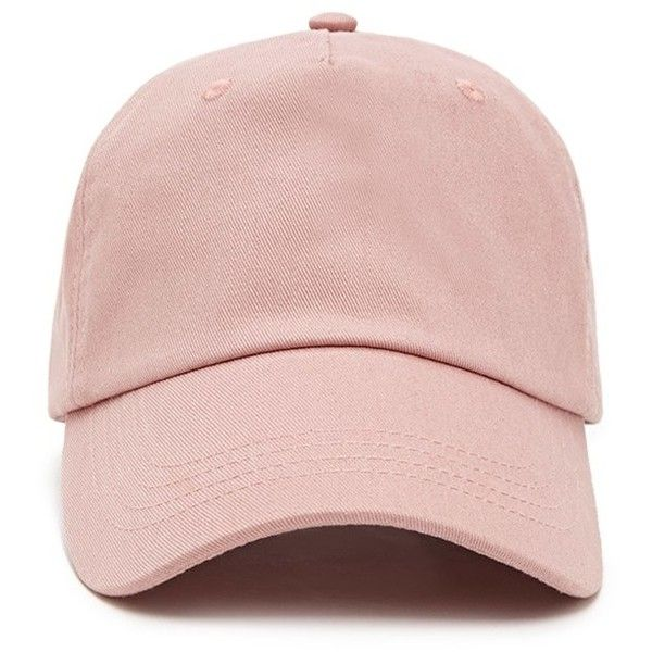 73a394f110a14 Forever 21 Women s Canvas Baseball Cap ( 7.90) ❤ liked on Polyvore  featuring accessories