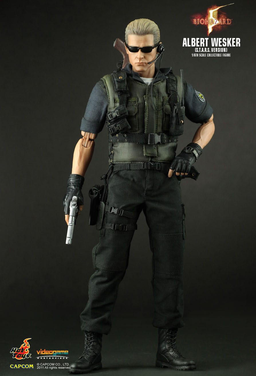 Hot Toys Biohazard 5 Albert Wesker S T A R S Ver 1 6th