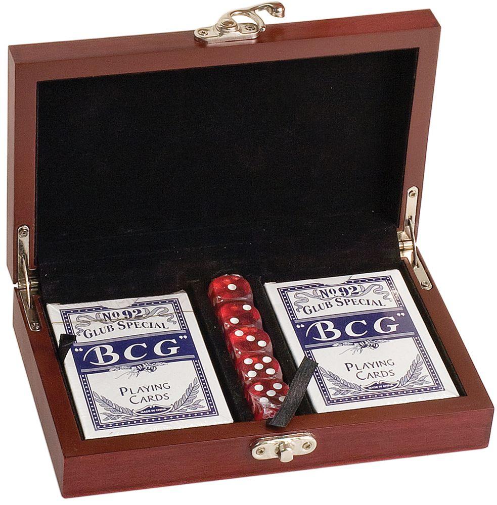 Northwest Gifts Custom Engraved Card & Dice Set