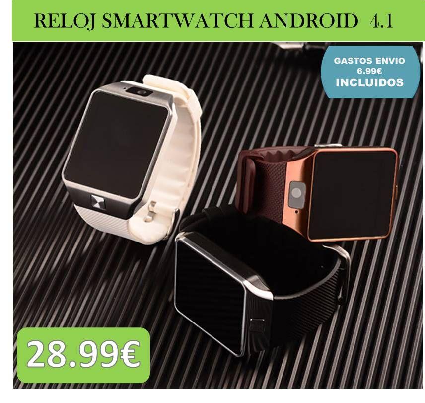 Relojes Smartwatch Para Android Conecta Este Reloj Inteligente