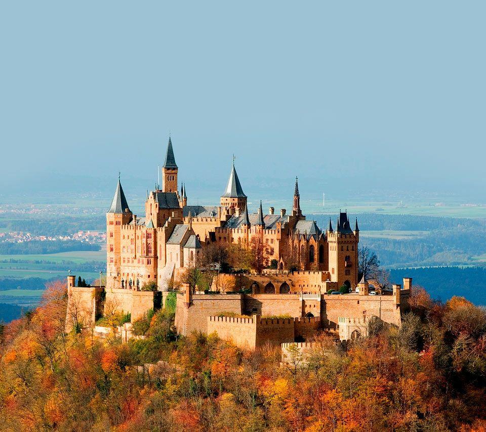 Amazing Places To Go Europe: Stunning Hohenzollern Castle, Germany.