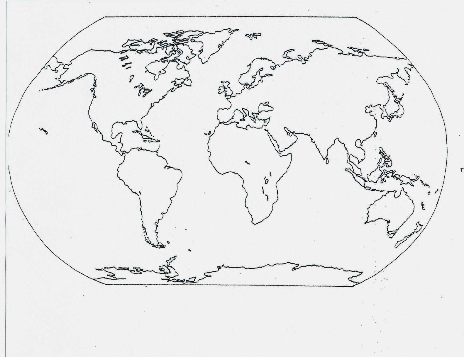 Catholic Schoolhouse Year 3 Free Printable Blank Maps