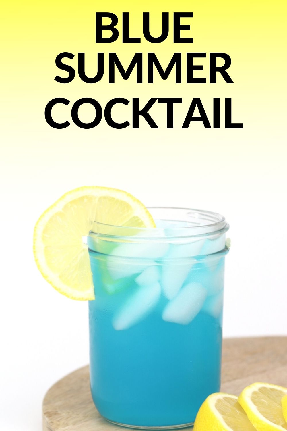 Blue Lagoon Cocktail Simple Sips Recipe In 2020 Cocktails Made With Vodka Easy Summer Cocktails Cocktail Recipes Easy