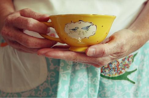 beautiful tea cup x