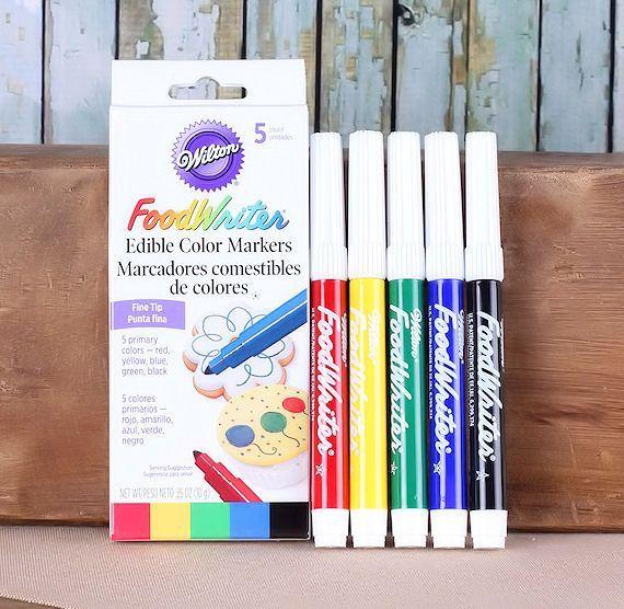 Wilton FoodWriter Edible Marker Pen Set | Sugar free goodies for ...