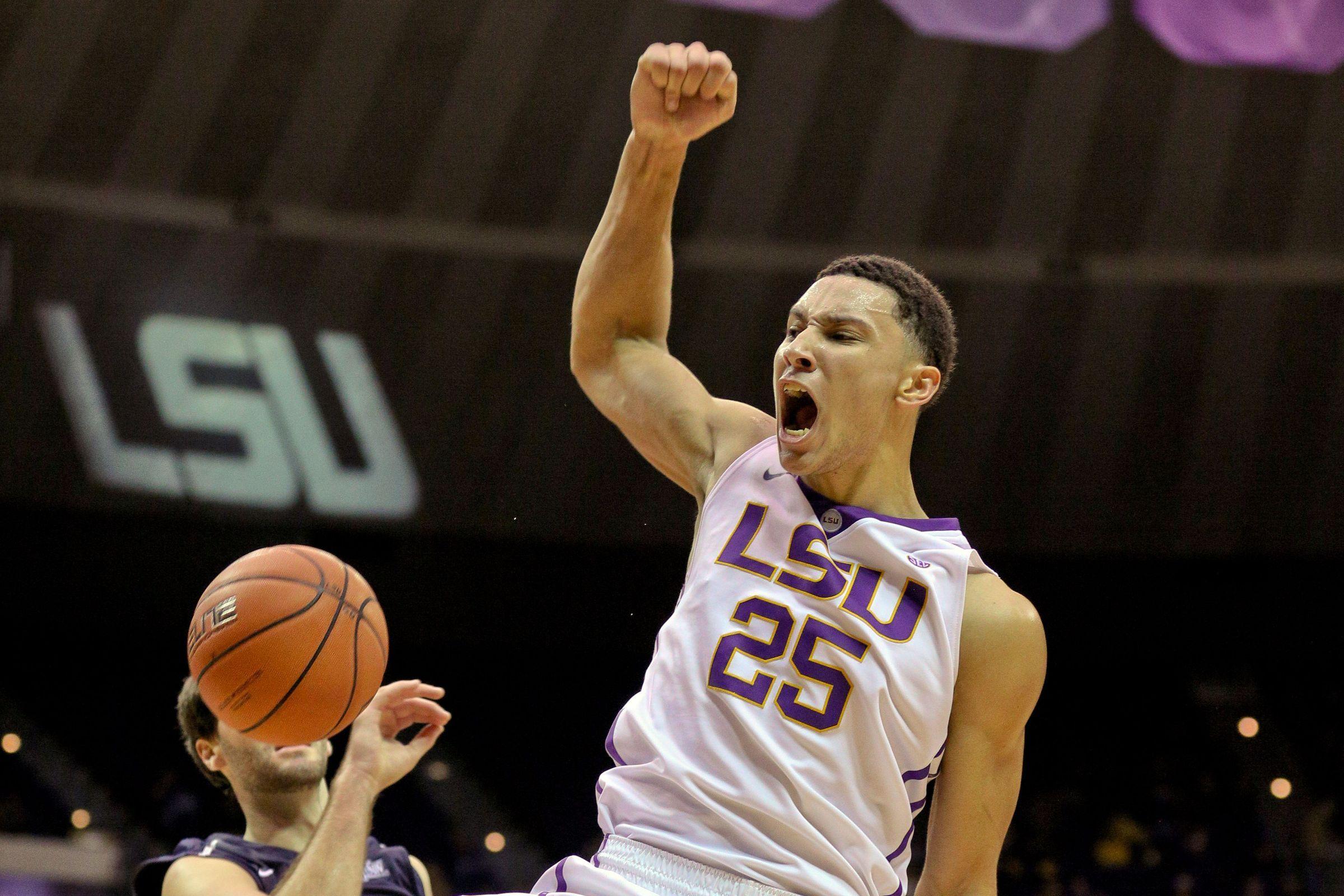 Ben Simmons Played The Game Of His Life Ben Simmons Lsu Kentucky Basketball