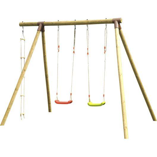 aire de jeux leroy merlin simple aires de jeux bois avec structure jeu en pour aire spielart le. Black Bedroom Furniture Sets. Home Design Ideas