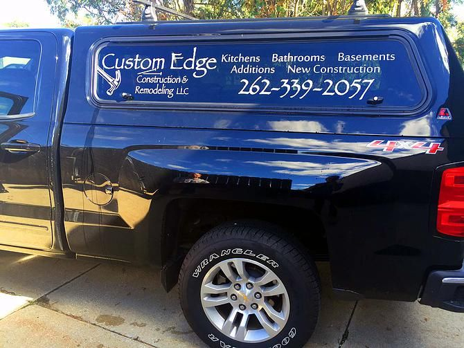 3 Custom Business Decals Stickers Landscaping Job Trailer Truck Carpet Cleaning