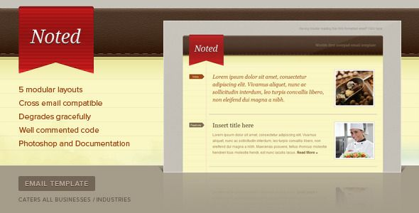 Delicious Mail  Template Pricing Table And Newsletter Templates
