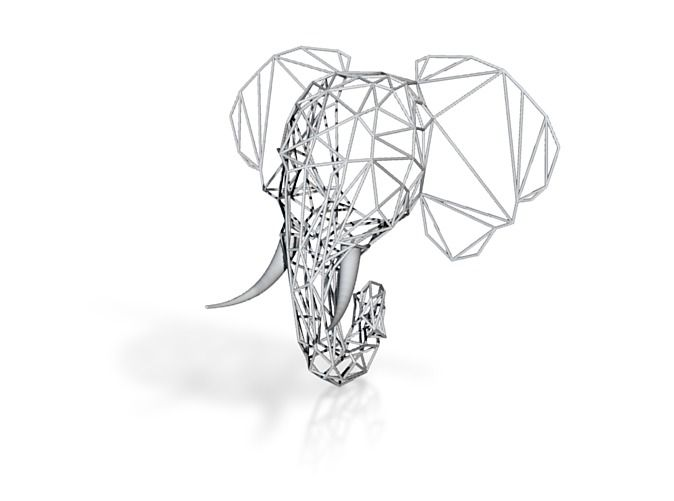 Wired Life Elephant Medium