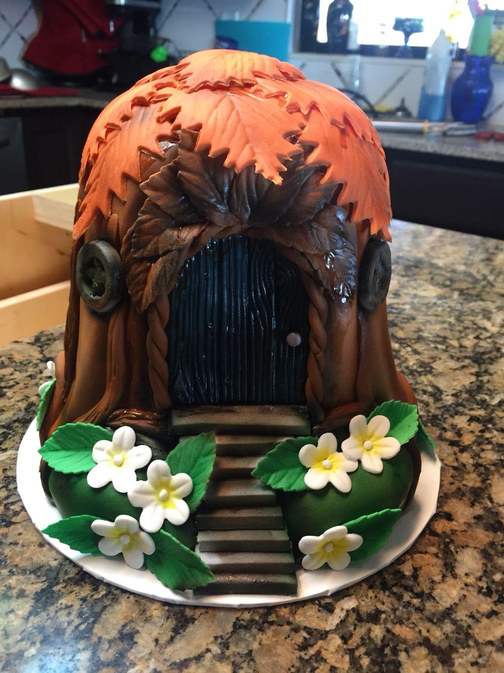 Treehouse cake Tree house, Hats, Hobby