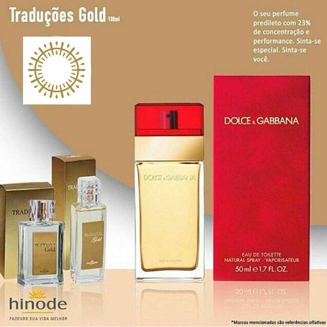7a2a07863e80d Fragrância Dolce   Gabbana - Traduções Gold Hinode Cód. 2308 - 100 ...