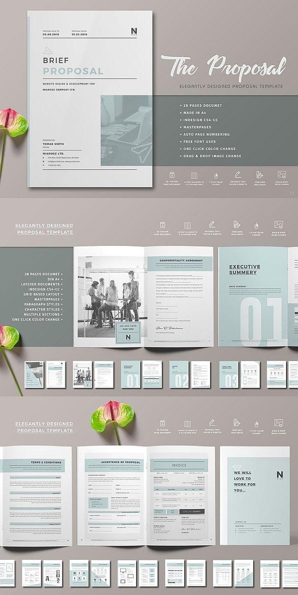 Proposal Proposal Design Business Proposal Template Free Business Proposal Template