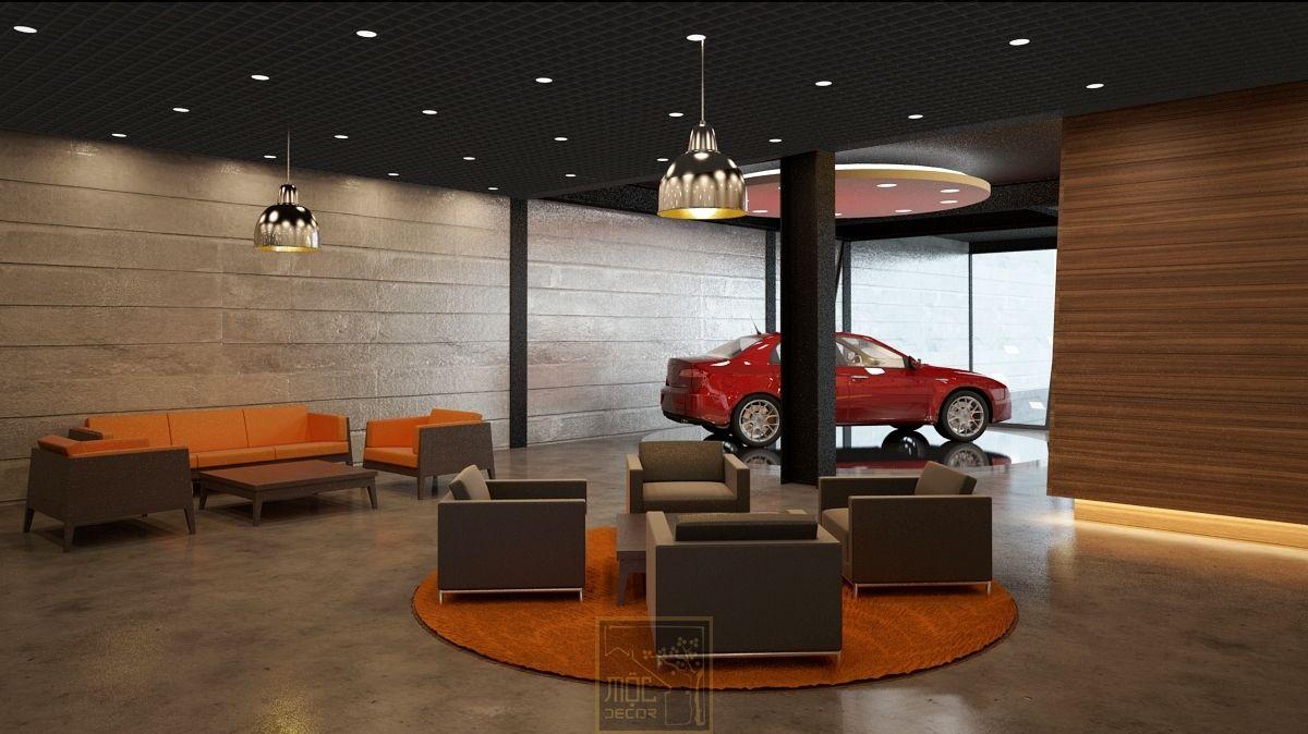 Car Showroom Interior Design Ideas