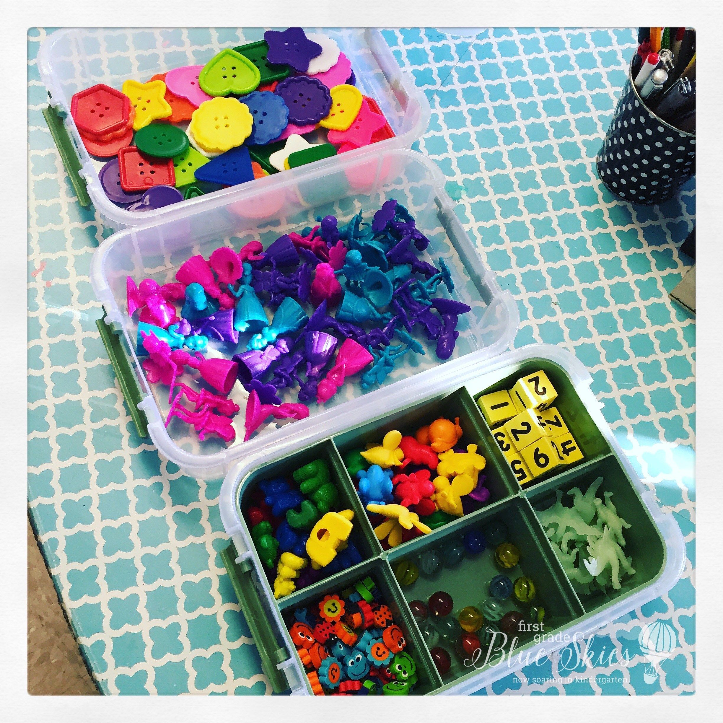 Inventory Exploration Boxes Freebie For Kindergarten And