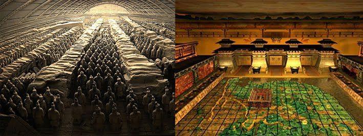 Qin Shi Huang Mausoleum An Enormous Tomb As Large A