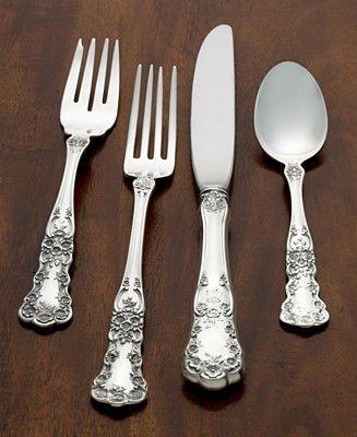"""Venezia by Wallace Sterling Flatware Dinner Fork 8 1//8/"""""""