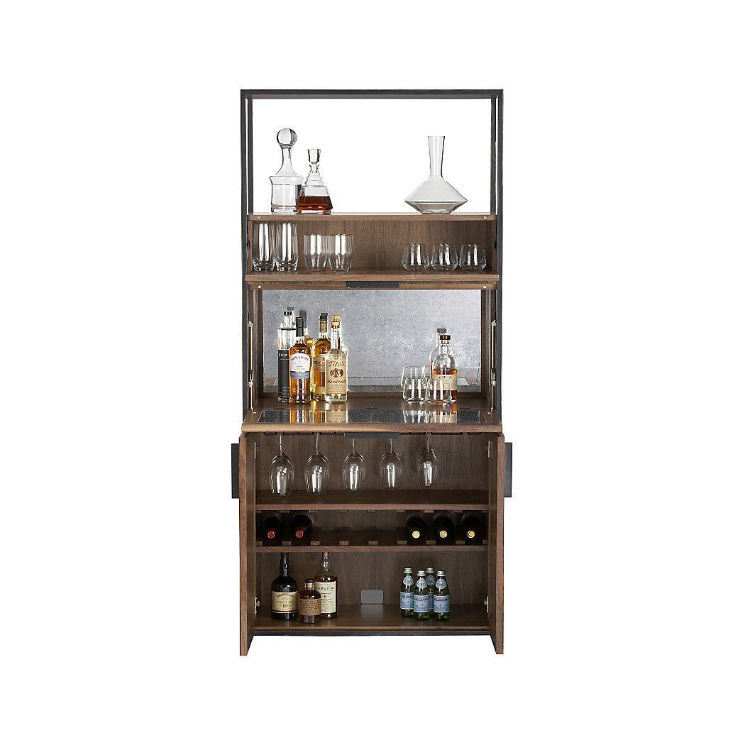 About us display shelves barrel bar and bar