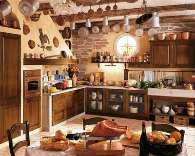 cocinas-rusticas-de-pueblo Cocinas rusticas Pinterest