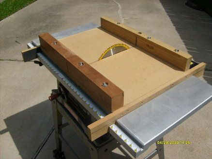 Crosscut Sled For Cheap Table Saw Workshop Pinterest Table Saw