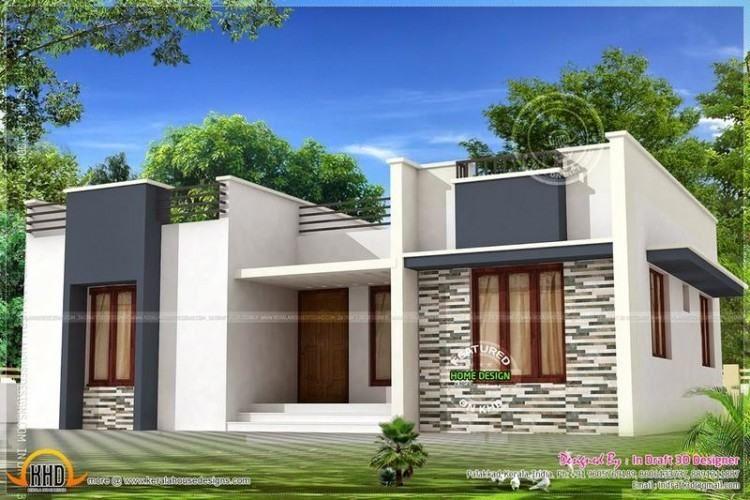 Tamilnadu Style Single Floor Home House Front Design Portico Design Architecture House