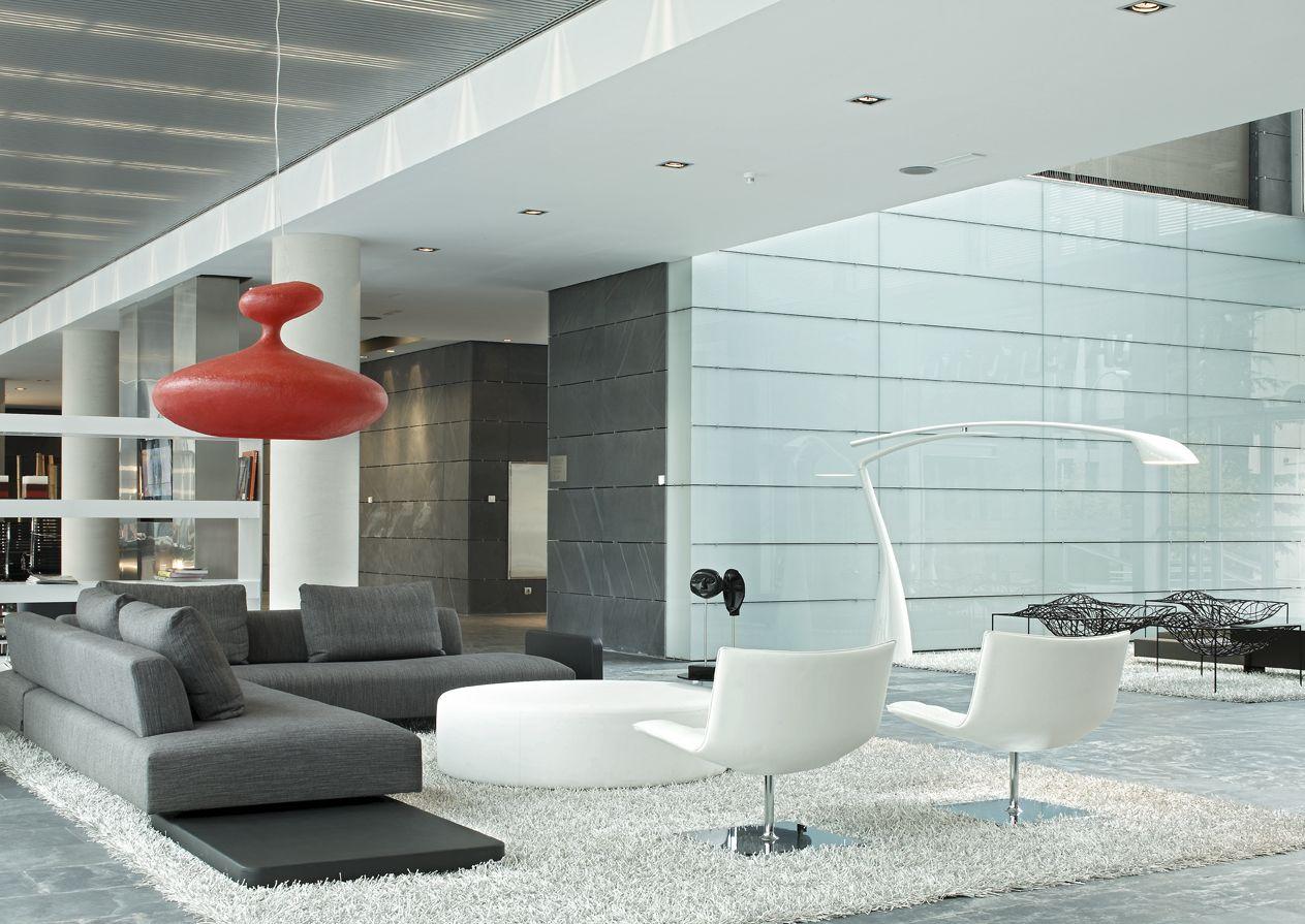 Hall vest bulo detalle mobiliario de estilo moderno - Mobiliario minimalista ...