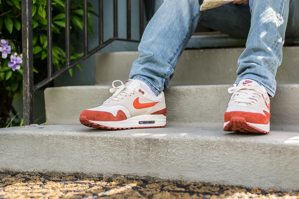 more photos 1078b bea0c See how the Nike Air Max 1 Mars Stone looks on feet in this video review  before you cop! Find out where to buy these Nike Air Max 1s online!