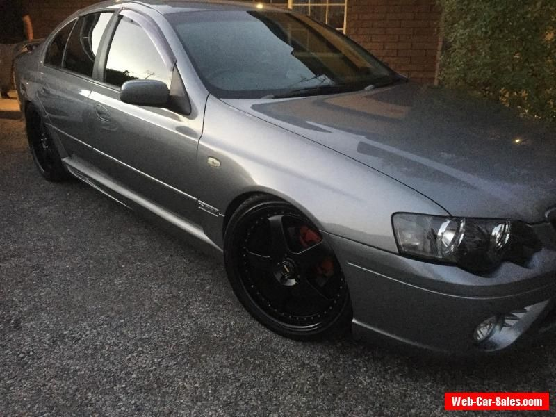 Ford Falcon Ba 2002 Xr6 Turbo 6 Speed Manual Conversion Ford