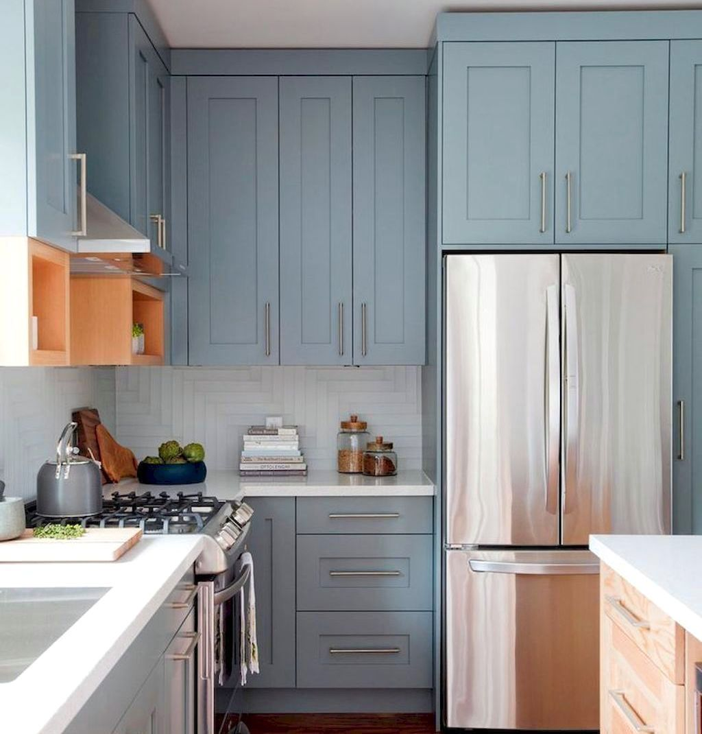 Latest Red Kitchen Cabinets With Light Gray Walls Exclusive On Indoneso Home Decor Kitchen Cabinets For Sale Kitchen Design Interior Design Kitchen