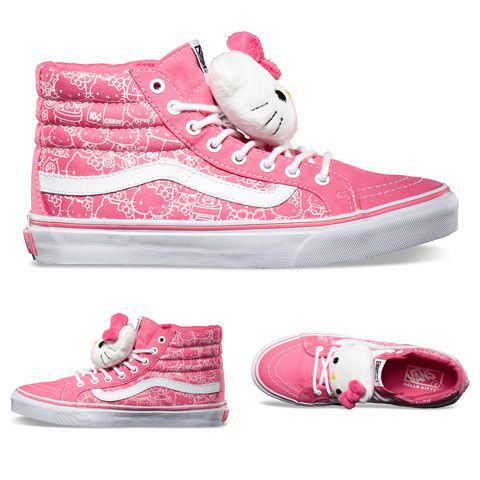 Hello Kitty x Vans Summer 2013 Collection