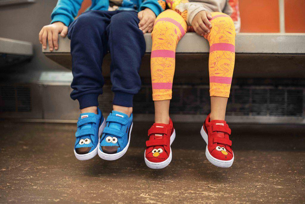 Puma Unveils Sesame Street Kids' Shoe