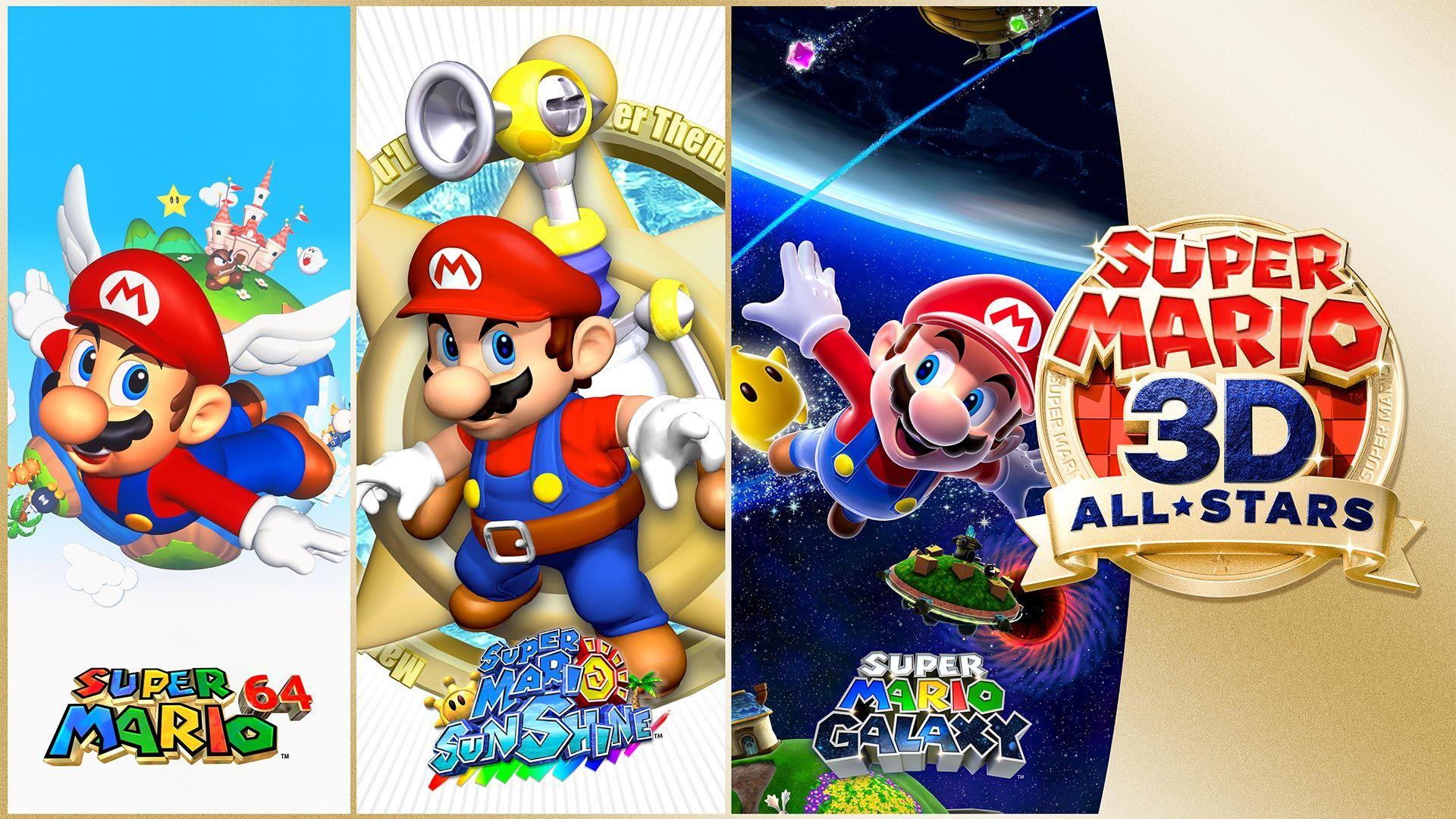 Super Mario 3d All Stars For Nintendo Switch Nintendo Game Mario S Movements Are As Smooth As Ever With Hd R In 2020 Super Mario 3d Super Mario Sunshine Super Mario