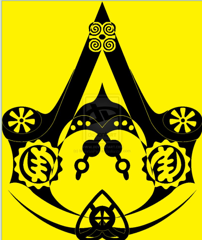 African Assassin Crest Assassins Creed Symbol Assasins Creed